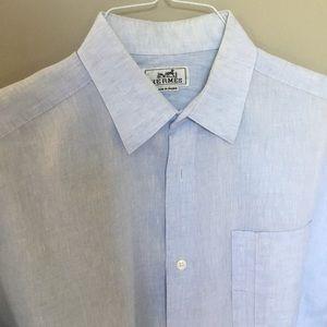Hermes Linen Shirt
